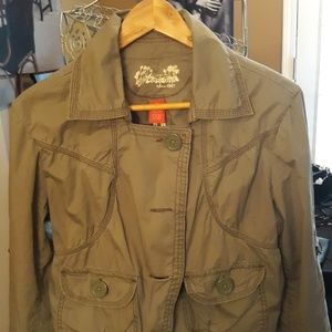 A Mosscimo army Green colored  Jacket